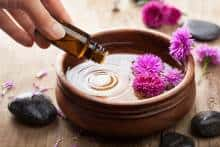 Essential oil for body treatment
